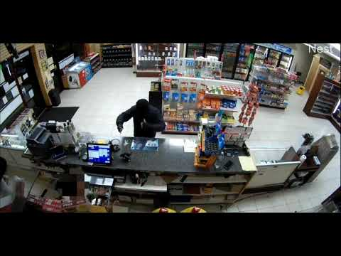 Video: Wanted Suspect Threatens Long Island Store Clerk With Hunting Knife, Demands Cash