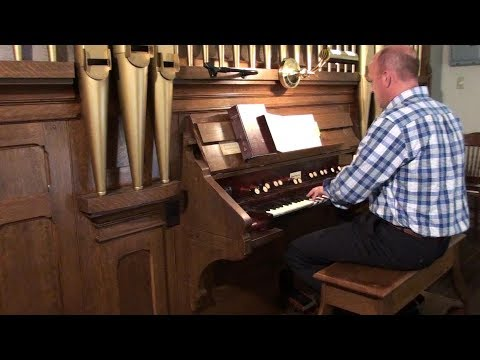 1925 Hinners Organ, Immanuel Lutheran Church, Tilsit, Missouri