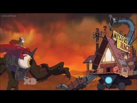 Gravity Falls theme rock version/Monster Fight