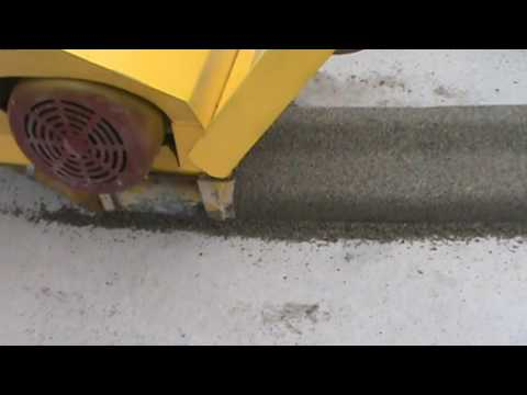 Twin Auger Machine By Curb King Electric Model Youtube