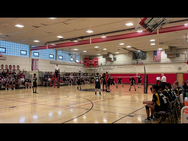 2019 NJ Boys Volleyball, Central  Semi-Final, Game1