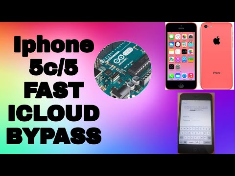 Iphone 5C/5 FAST ICLOUD BYPASS   AppleTech752   Sliver 5.5