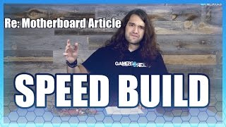 'Motherboard' Says It's Hard to Build a PC (Speed Build)