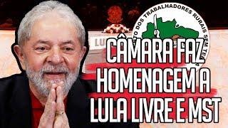 Câmara dos deputados HOMENAGEIA Lula Livre e MST | por Kim Kataguiri