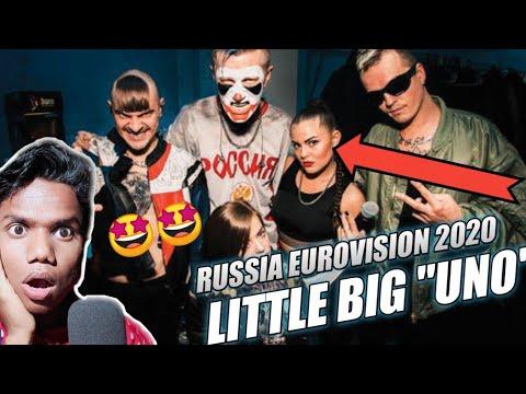 Reaction video Little Big - Uno Russia Eurovision 2020 | Crazy dance