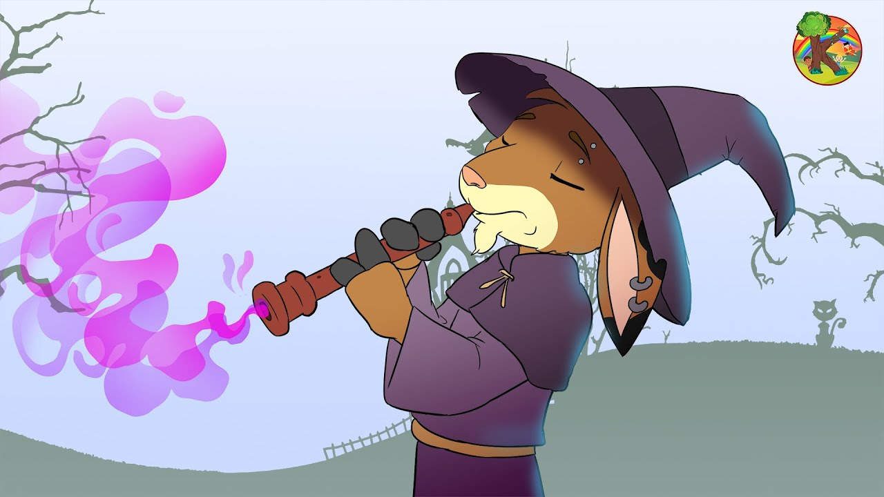 Wolf and the 7 Little Goats - Musician Goat Magical Flute   Fairy Tale Adaptation   Cartoon