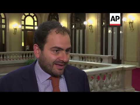 Catalan parliamentarians react to independence bid latest