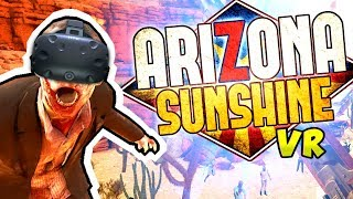 ZOMBIE SURVIVAL in VIRTUAL REALITY!? | Arizona Sunshine VR (HTC Vive Gameplay)