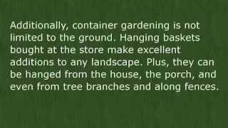 New Container Gardening Secrets | ****Container Gardening Vegetables