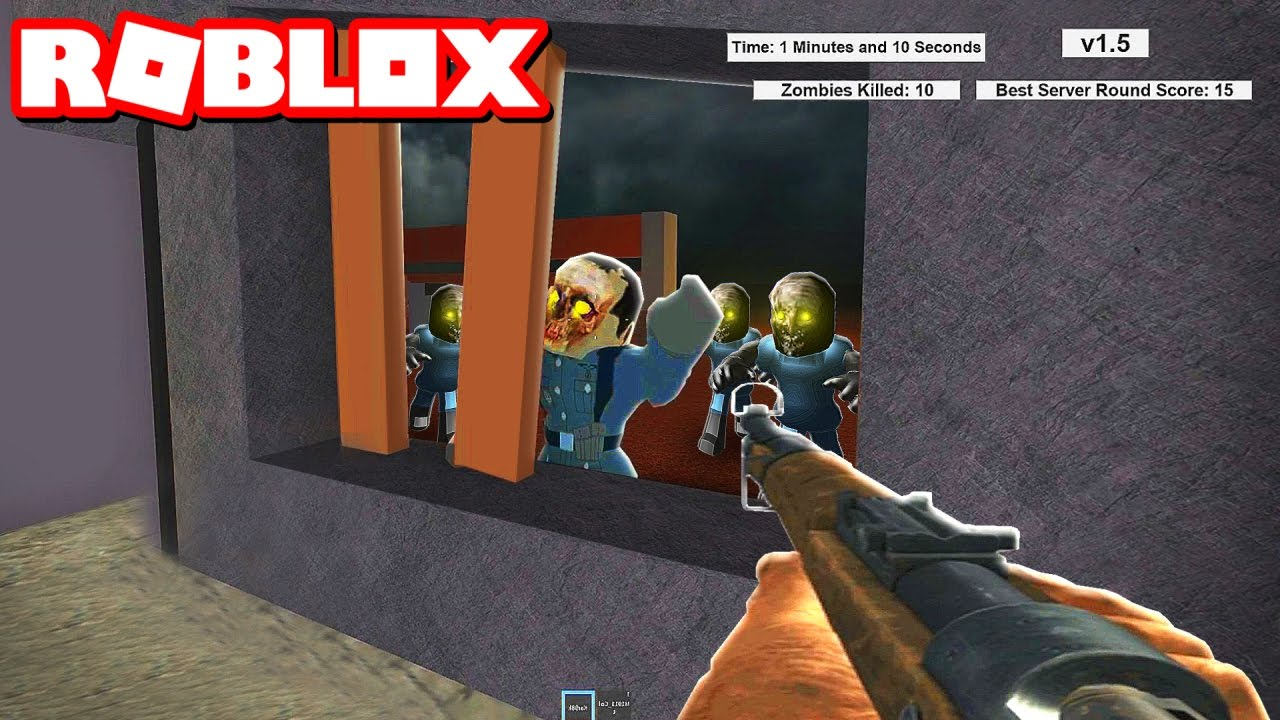 Roblox Zombies Game Videos