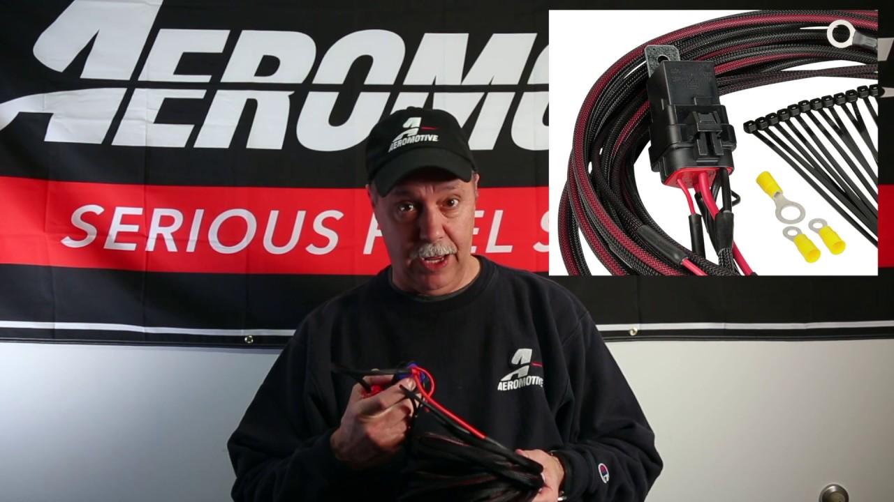 Aeromotive 16307 Premium Fuel Pump Wiring Kit