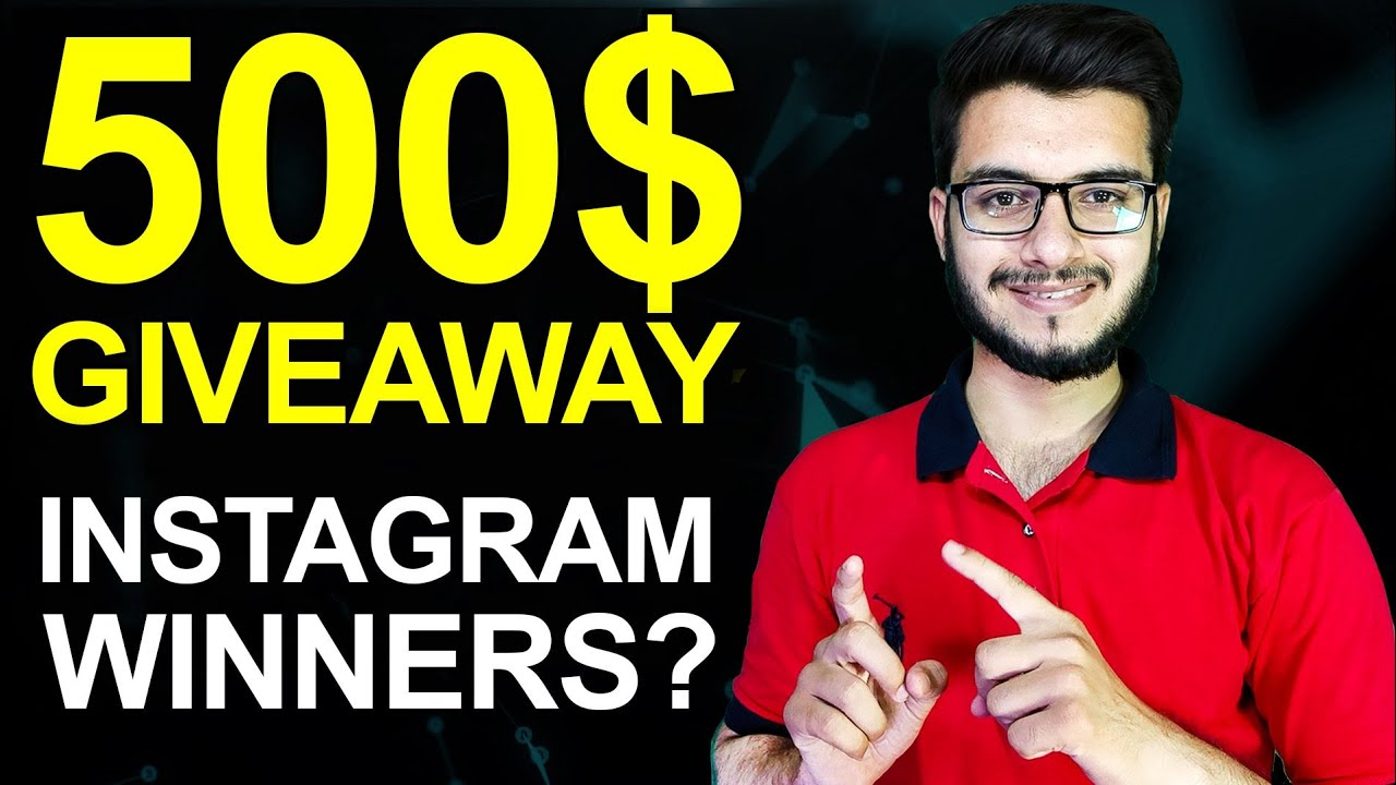 Download 500$ GIVEAWAY WINNERS of INSTAGRAM   #P4ProviderGiveaway   P4 Provider