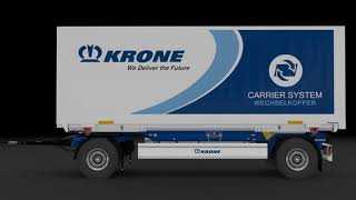 This video is a short preview of my Krone turntable trailer modification for EuroTruckSimulator2. It was made with Blender and DaVinci Resolve.   You can download it here:  steam workshop: https://steamcommunity.com/sharedfiles/filedetails/?id=2421393956 scs forum: https://forum.scssoft.com/viewtopic.php?f=36&t=297326&p=1516910&hilit=krone#p1516910