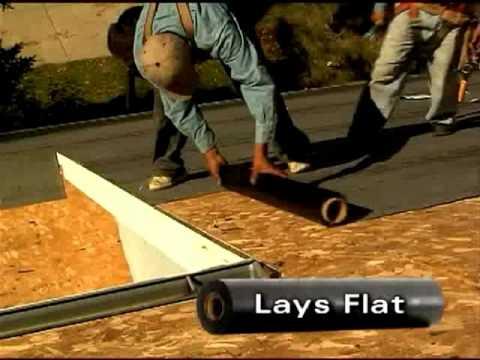 Tarco Leakbarrier Easylay Underlayment Application Video Youtube
