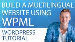 WPML Multilingual Plugin For WordPress | Tutorial