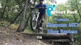 Shimano ME7 mountain bike shoe review