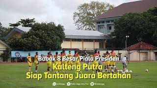 Bertemu Persija Jakarta, Ini Kata Pelatih Kalteng Putra