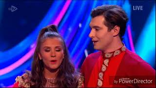 Brooke Vincent and Matej Silecky skating in Dancing on Ice: Final (11/3/18)