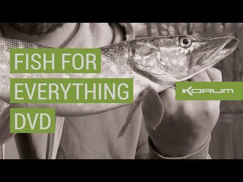 KORUM 'FISH FOR EVERYTHING' DVD '17