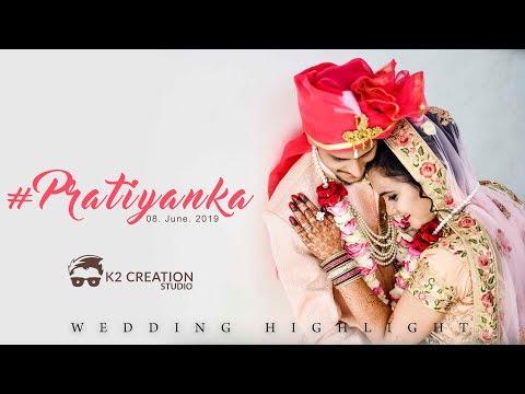 Dil Meri Na Sune | Pratik + Priyanka | Wedding Highlight | K2creationstudio | 2019