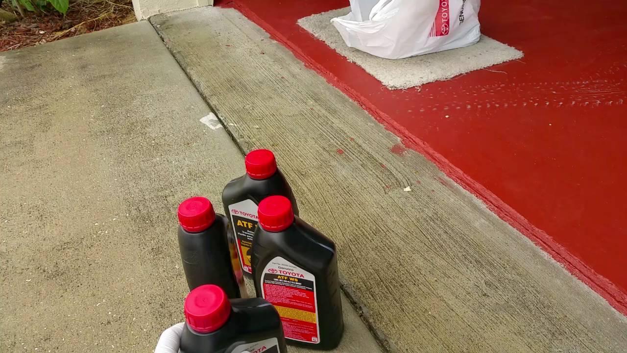 Automatic Transmission Fluid >> 2011 Toyota Yaris automatic transmission fluid change ...