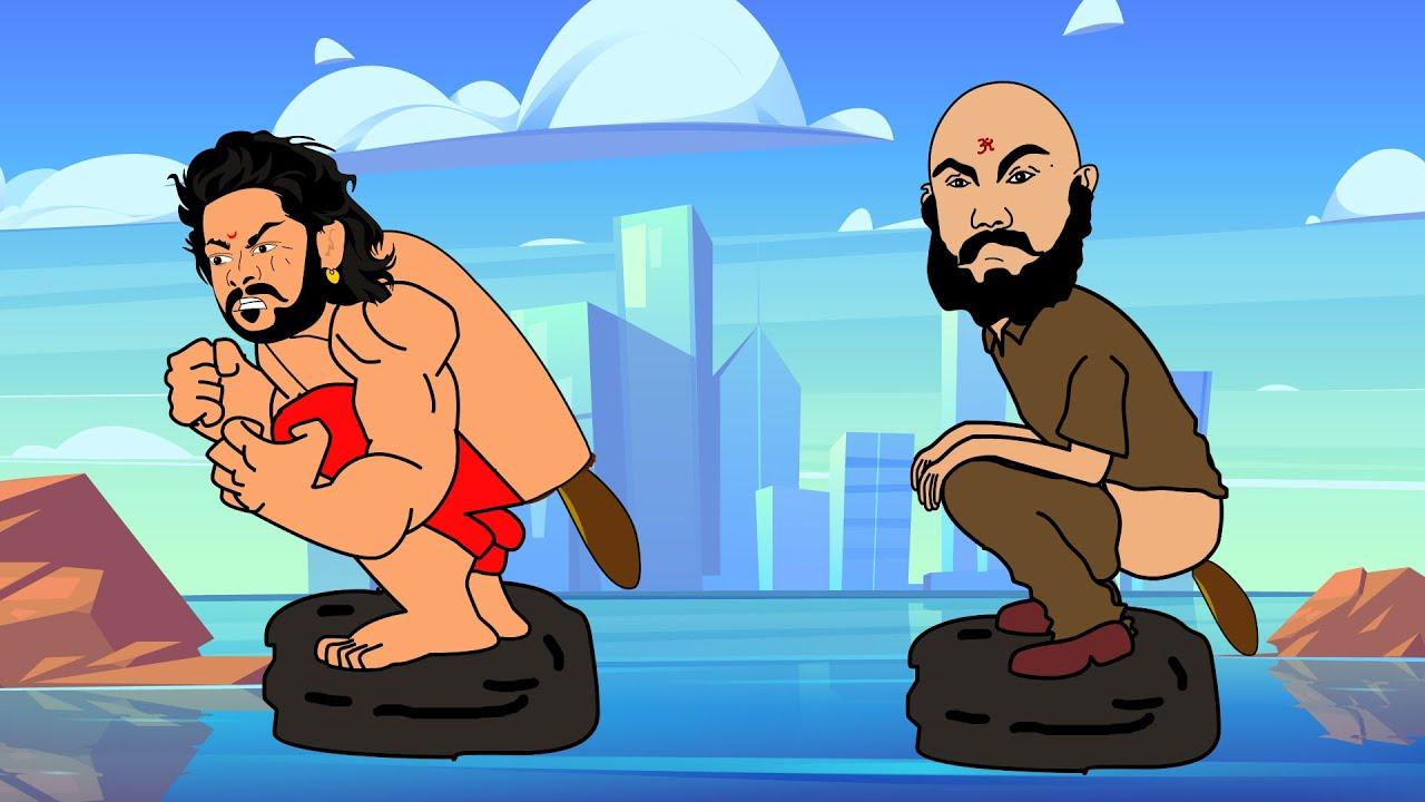 Download Bah Goo Bali Vs Kattappa Funny Video Collection