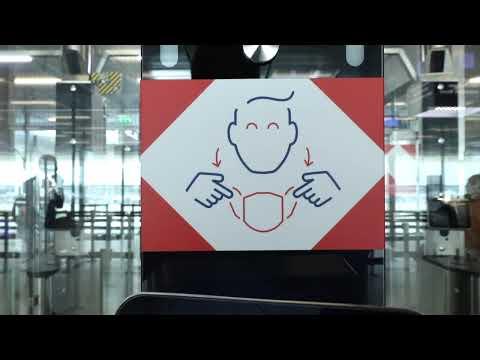 Paris Aéroport Safe Travel Parcours sanitaire à l'Arrivée