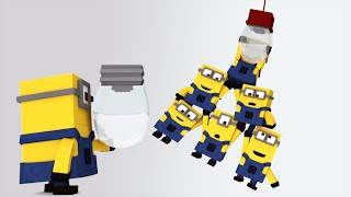 Minions in Minecraft - Changing a light bulb [Minecraft Animation 2015]