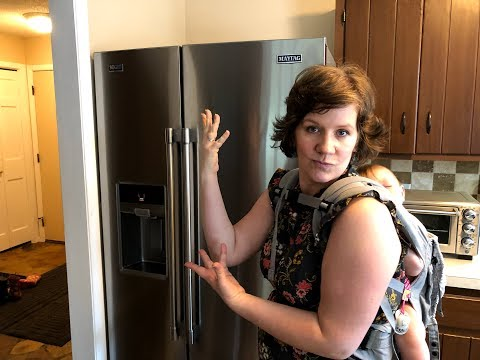 MAYTAG SIDE BY SIDE REFRIGERATOR REVIEW -  MODEL MSS26C6MZ00