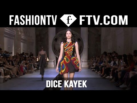 Dice Kayek Show | Paris Haute Couture Fall/Winter 2015/16 | FashionTV