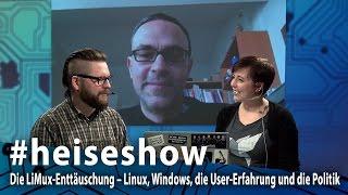 #heiseshow: Die LiMux-Enttäuschung – Linux, Windows, die User-Erfahrung & die Politik