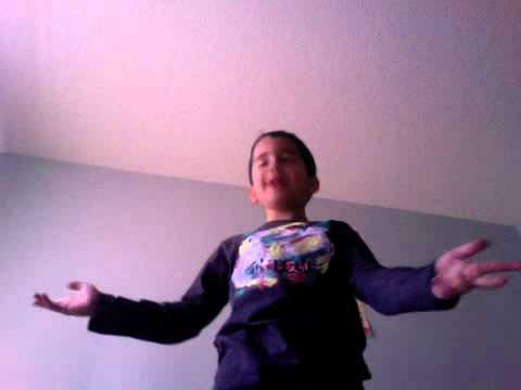 Kid singing rage charlie bit my finger fail