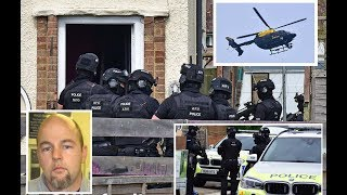 Joseph McCann Armed police raid house for wanted suspect in Watford