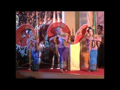 การแสดงวัฒนธรรมภาคเหนือ สาขานาศิลป์และการแสดง มรภ นครศรีฯ