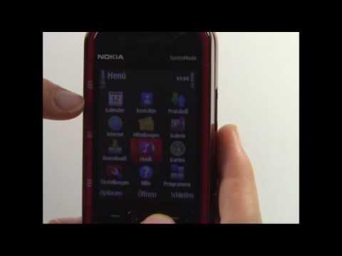 Nokia 5730 XpressMusic Test Bedienung