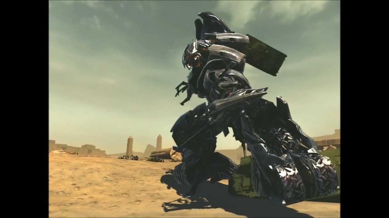 Transformers Revenge of the Fallen Golden Optimus Prime VS ...