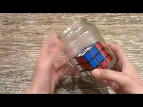 Impossible Rubik's Cube In A Bottle... :O