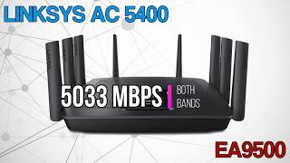 Linksys EA9500 AC5400 Wireless Router - Quick Review