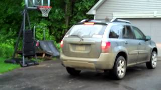 Pontiac Torrent Burns out Huge