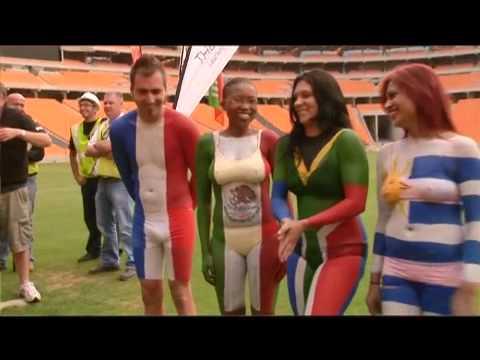 The 94.7 Highveld Rude Awakening Painted Bodies Parade at Soccer City