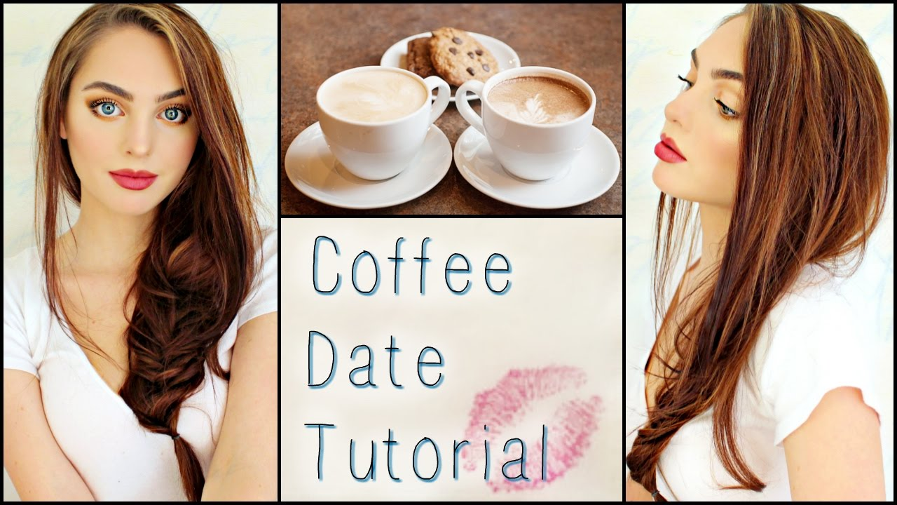 Casual Look Haare Casual Coffee 1st Date Makeup Hair Outfit