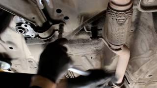 Chevrolet Epica Шевроле Эпика 2011 года Замена заднего сайленблока переднего рычага