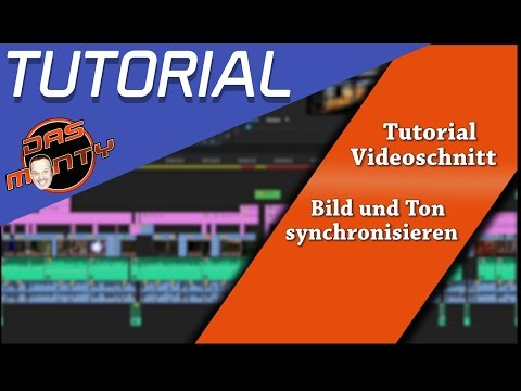 Tutorial Video/Bild und Audio perfekt synchronisieren - bsp. Adobe Premiere Pro - Das Monty Deutsch
