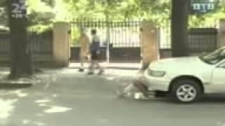 Прикол Секс под автомобилем