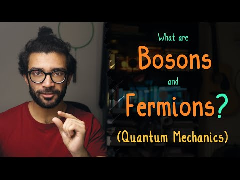 Quantum Physics: BOSONS And FERMIONS Explained For Beginners