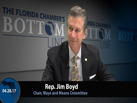 Rep. Jim Boyd Talks House Tax Package, Workers' Comp