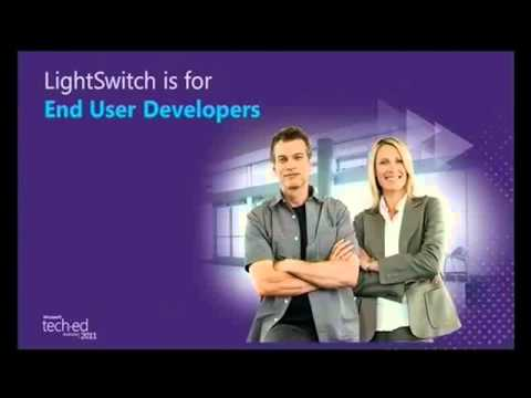Tech·Ed Australia 2011 Introducing Visual Studio LightSwitch