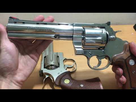 colt python 6inch vs Colt Anaconda 6inch - YouTube