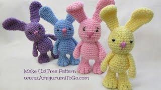 Crochet Along Little Bigfoot Bunny