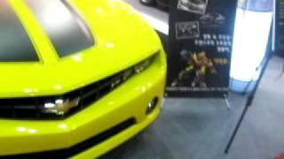 20100326 camaro of movie Transformers korean tuning car show auto motive week 1st day in kintex 16